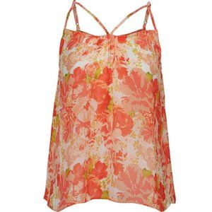 FOREVER 21 Coral Strappy Tank